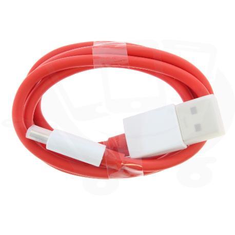 CABLE ORIGINAL DE CARGA Y DATOS PARA ONEPLUS 3, 3T, 5, 5T, 6, 6T, 7, 7 PRO TIPO-C USB