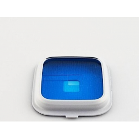 Carcasa de Camara Trasera Samsung Galaxy S5 i9600 SM-G900M - Blanco