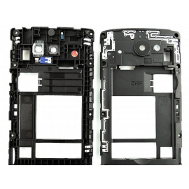 Repuesto Carcasa Intermedia con Lente + Speaker + Vibrador  LG Leon H340 H340n