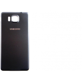 Tapa Trasera Carcasa de Bateria Samsung Galaxy Alpha SM-G850F - Negra
