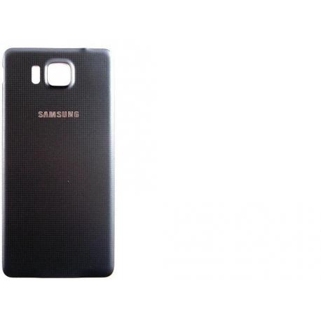 Tapa Trasera Carcasa de Bateria Original Samsung Galaxy Alpha SM-G850F - Negra
