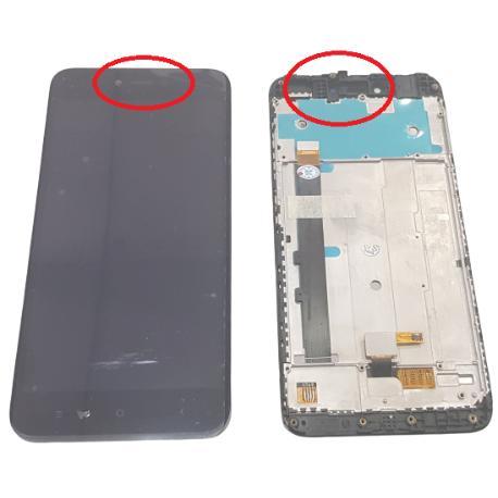 Pantalla Completa para Xiaomi Redmi Note 5A - Negra - Version Especial