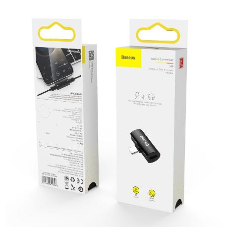 CAL46-S1 - ADAPTADOR AUDIO/HF PARA IPHONE LIGHTNING 8-PIN - 2X LIGHTNING 8-PIN