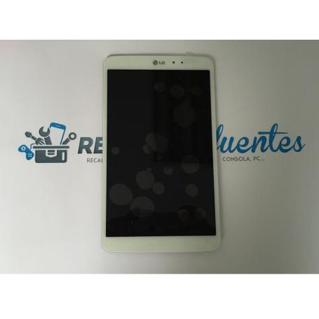 Pantalla Tactil + LCD Display para LG G Tablet Pad 8.3 V500 - Blanca