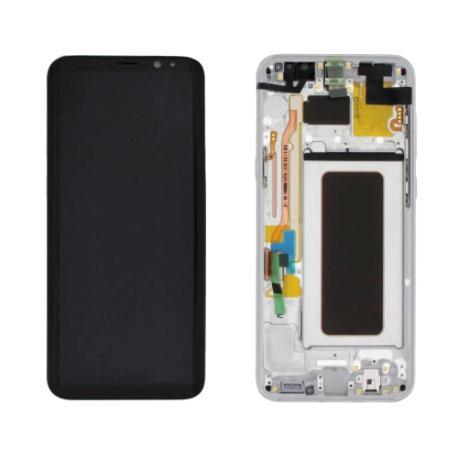 PANTALLA DISPLAY LCD+TACTIL ORIGINAL PARA SAMSUNG SM-G955F GALAXY S8 PLUS,GALAXY S8+  - PLATA