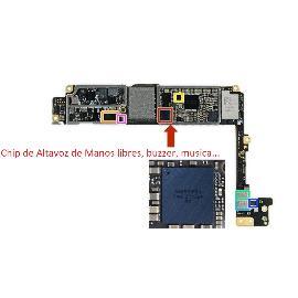 CHIP IC DE AUDIO BUZZER / MANOS LIBRES PARA IPHONE 6S, 6S PLUS, 7, 7 PLUS