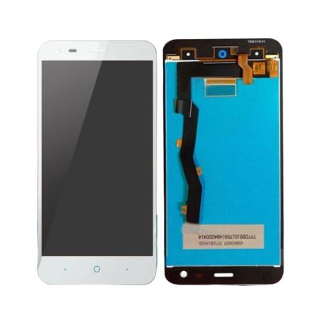 PANTALLA LCD DISPLAY + TACTIL ZTE BLADE S6 PLUS - BLANCA
