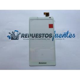 Repuesto Pantalla Tactil Lenovo A880 - Blanco