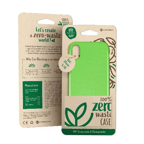 FUNDA BIODEGRADABLE PARA IPHONE 11 PRO MAX - VERDE