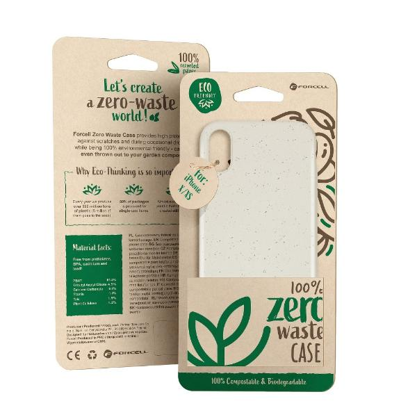 FUNDA BIODEGRADABLE PARA SAMSUNG GALAXY S10 PLUS - BLANCO
