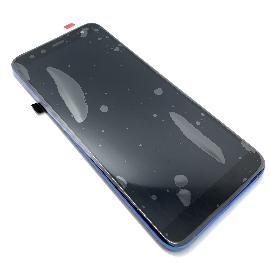 PANTALLA TACTIL Y LCD CON MARCO AZUL PARA BLACKVIEW S8