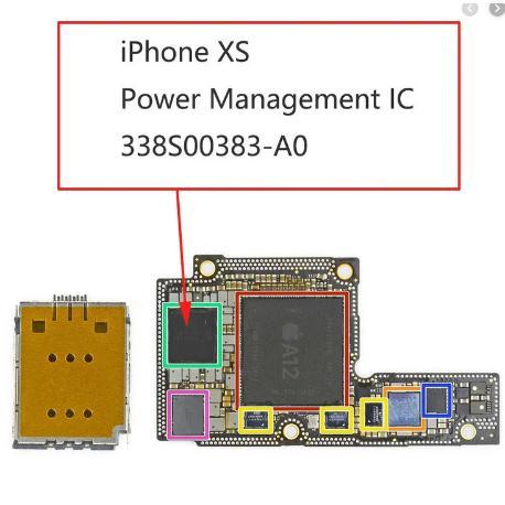 CHIP IC DE ADMINISTRAR ENERGIA PARA IPHONE XS - 338S00383 / U2700