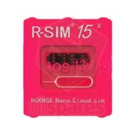 R-SIM15 TARJETA DE LIBERACIÓN PARA IPHONE  XS, XS MAX, XR,  X,  8, 8 PLUS, 6S, 6S PLUS, 7 , 7 PLUS