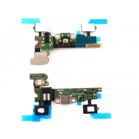 Repuesto Flex de Carga Micro USB + Microfono + Jack Audio Samsung Galaxy A3 A300F