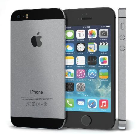 IPHONE 5S 16GB NEGRO - MUY BUEN ESTADO
