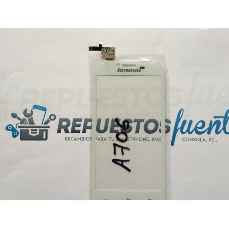 Repuesto Pantalla Tactil Lenovo A706 Blanca