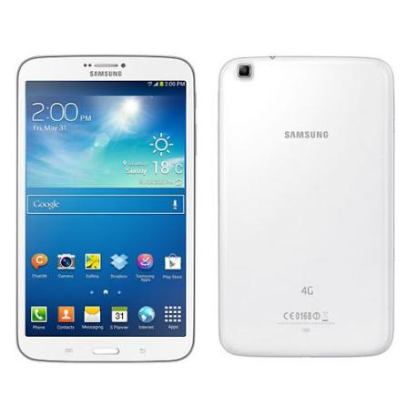 """SAMSUNG GALAXY TAB 3 8.0"""" 16GB 4G SM - T315 BLANCA - MUY BUEN ESTADO"""