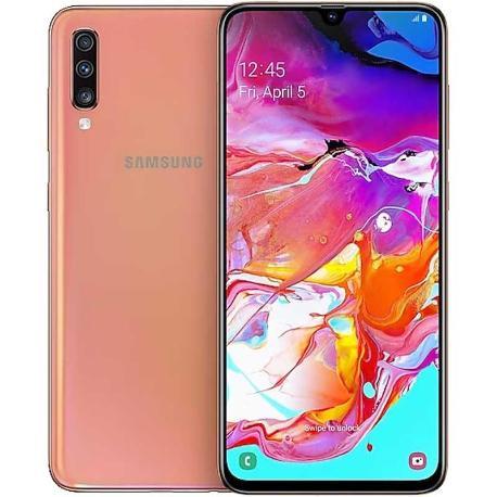 SAMSUNG GALAXY A70 A705FN/DS 128GB 6GB CORAL - MUY BUEN ESTADO