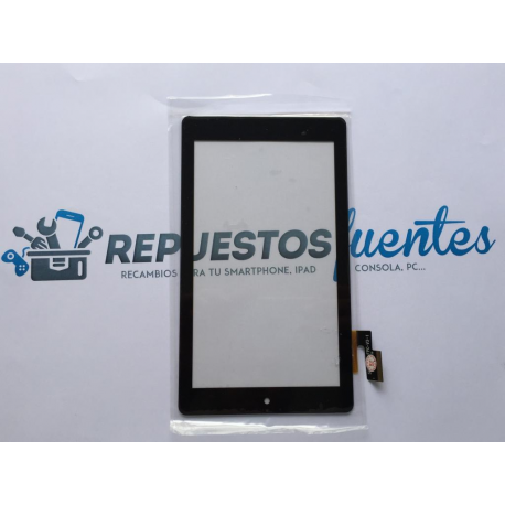 Pantalla Tactil Universal Tablet China Carrefour CT715 7 Pulgadas - Negra
