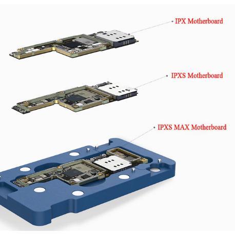 PLATAFORMA DE REBALLING 3 EN 1 PARA IPHONE X, XS, XS MAX