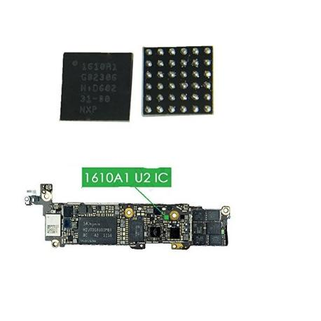 CHIP IC DE CARGA PARA IPHONE 5S, IPHONE 6/6+, IPAD MINI 2, IPAD AIR 2 - 1610A1