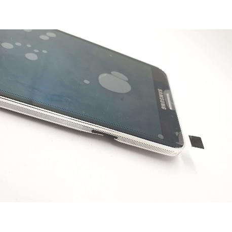 PANTALLA LCD DISPLAY + TACTIL CON MARCO ORIGINAL PARA SAMSUNG GALAXY NOTE 3 N9005 - NEGRA -  REMANUFACTURADA