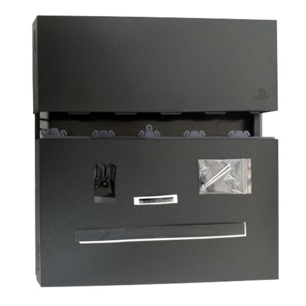 CARCASA COMPLETA PARA PLAYSTATION 4, PS4 - CUH-1200 - NEGRA -