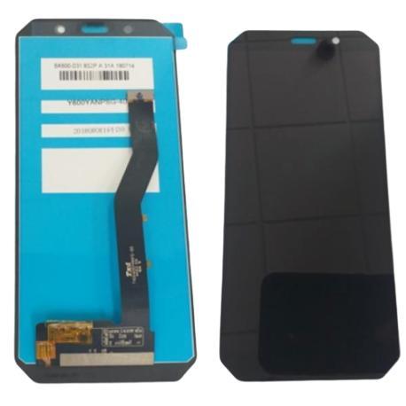 PANTALLA LCD Y TACTIL PARA AGM A9 - NEGRA -