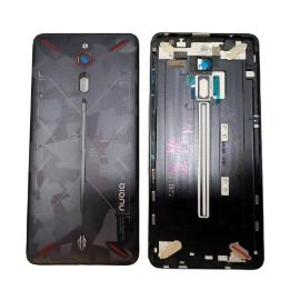 TAPA TRASERA PARA ZTE NUBIA RED MAGIC, NX609J - NEGRA CAMUFLAJE  -