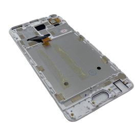 PANTALLA TACTIL Y LCD CON MARCO PARA MEIZU M6 NOTE - BLANCA
