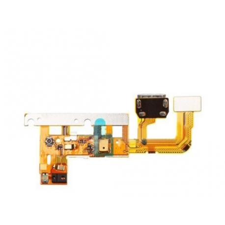 Flex Conector de Carga Micro USB y Microfono para Huawei Ascend P6