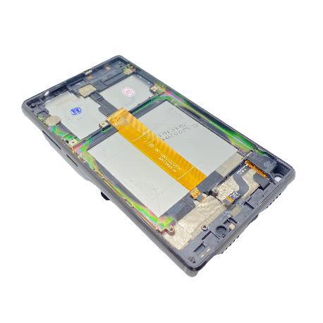 PANTALLA LCD Y TACTIL CON MARCO PARA DOOGEE MIX LITE - NEGRO