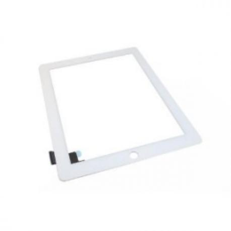 PANTALLA CON TOUCH DIGITALIZADOR TACTIL APPLE IPAD 2 BLANCA SIN BOTON HOME Y NI ADHESIVOS