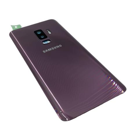 Tapa Compatible para Samsung Galaxy S9 Plus - Lila - Con lente