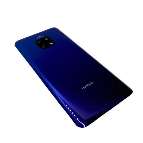 Tapa Compatible para Huawei Mate 20 Pro - Azul Aurora con Lente