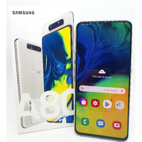 SAMSUNG GALAXY A80 A805FN/DS 128GB 6GB BLANCO - MUY BUEN ESTADO