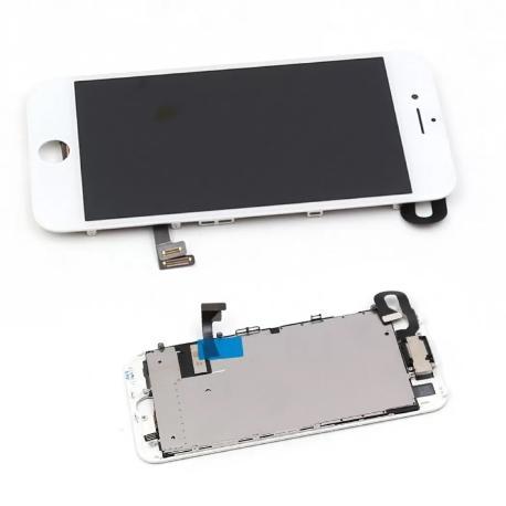 PANTALLA LCD DISPLAY + TACTIL PARA IPHONE 7 - BLANCA CON COMPONENTES