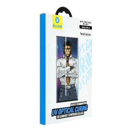 Cristal Templado 5D UV Mr. Monkey para Samsung Galaxy S20  - Transparente