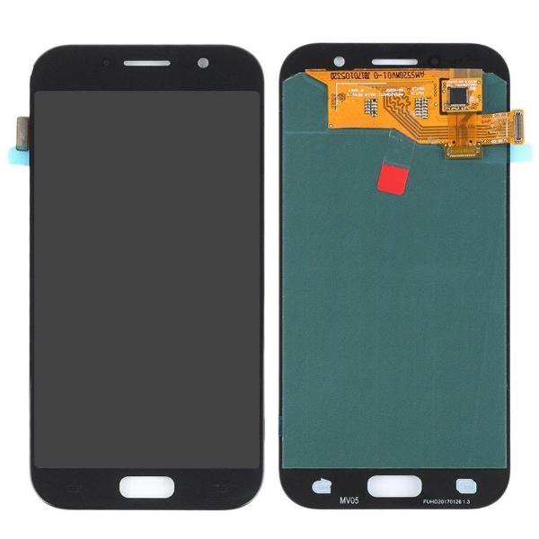 PANTALLA LCD + TACTIL PARA SAMSUNG GALAXY A5 2017 A520 NEGRA - CALIDAD OLED COMPATIBLE