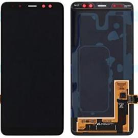 PANTALLA LCD + TACTIL PARA SAMSUNG GALAXY A8 2018 A530 NEGRA - CALIDAD OLED COMPATIBLE