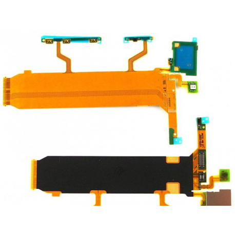 Repuesto Flex Central + Volumen + Encendido + Microfono para Sony Xperia Z Ultra XL39h