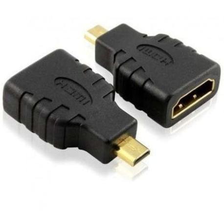 ADAPTADOR MICRO HDMI A HDMI HEMBRA