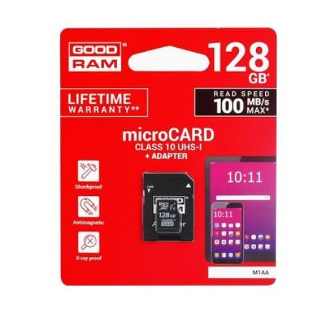 TARJETA SD  MICROSDXC UHS-I 128GB CLASE 10 UHS-I