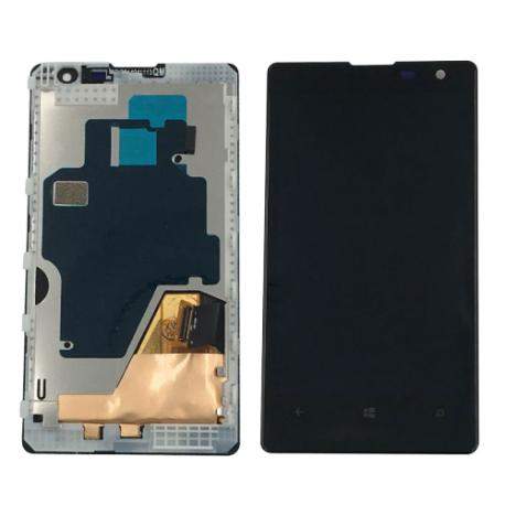 PANTALLA LCD DISPLAY + TACTIL CON MARCO PARA NOKIA LUMIA 1020 - NEGRA