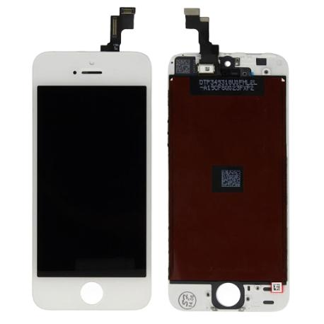 PANTALLA LCD DISPLAY + TACTIL PARA IPHONE 5S , IPHONE SE - BLANCA