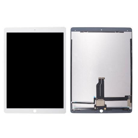 PANTALLA LCD DISPLAY + TACTIL PARA IPAD PRO 12.9 PULGADAS - BLANCA ( CON FLEX DISPLAY SOLDADO )