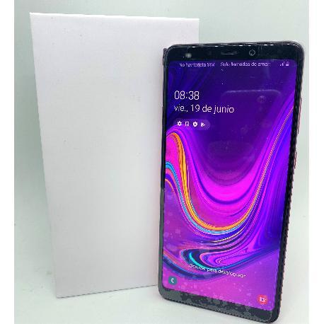 SAMSUNG GALAXY A9 (2018) DUAL SIM 128GB 6GB RAM SM-A920F/DS ROSA - MUY BUEN ESTADO