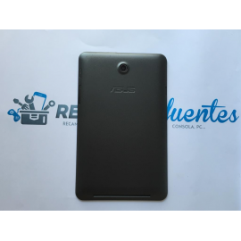Carcasa Tapa Trasera para Asus MemoPad HD 7 K00B ME173X (Recuperada) - Negra