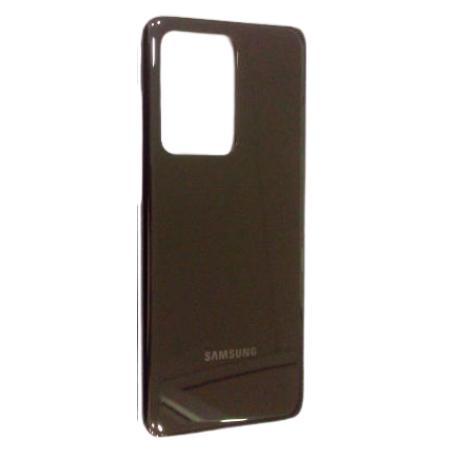 Tapa Trasera Compatible para Samsung Galaxy S20 Ultra G988 - Gris Sin Lente