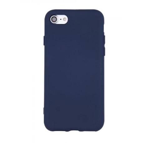 FUNDA DE SILICONA PARA IPHONE 7 PLUS, 8 PLUS - AZUL